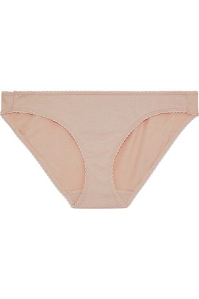 SLEEPY JONES Cotton-blend jersey low-rise briefs