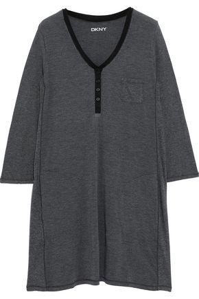DKNY Mélange modal-blend jersey nightdress
