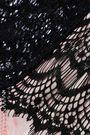 MIMI HOLLIDAY by DAMARIS Satin-paneled lace mid-rise thong