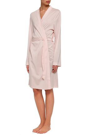 BODAS Cotton-jersey robe