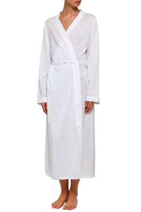 BODAS Cotton-jersey robe