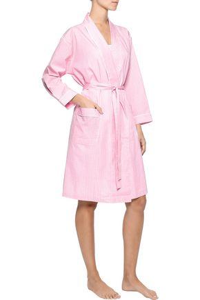 SLEEPY JONES Isa gingham cotton robe