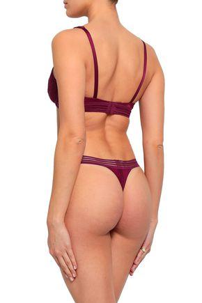 HEIDI KLUM INTIMATES Lace-trimmed triangle bra