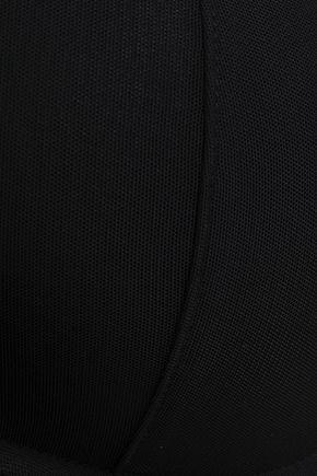 HEIDI KLUM INTIMATES Cutout mesh push-up bra