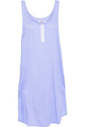 DKNY Printed voile nightdress