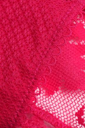 HEIDI KLUM INTIMATES Tuberose Tryst lace low-rise thong