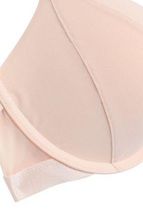HEIDI KLUM INTIMATES Heidi Boost cutout mesh push-up bra