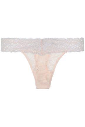 HEIDI KLUM INTIMATES Heidi stretch-lace low-rise thong