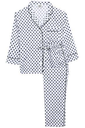 SLEEPY JONES Cotton fil coupé pajama set
