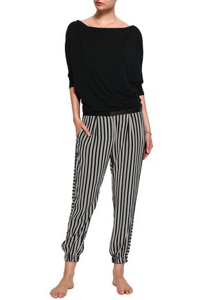 MIMI HOLLIDAY by DAMARIS Stretch-jersey pajama top