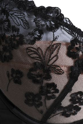 MIMI HOLLIDAY by DAMARIS Embroidered tulle bra