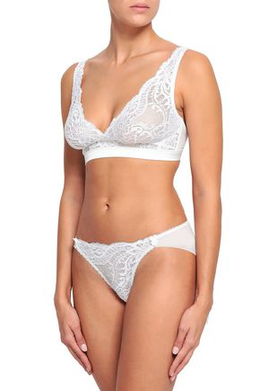 MIMI HOLLIDAY by DAMARIS Lace low-rise briefs