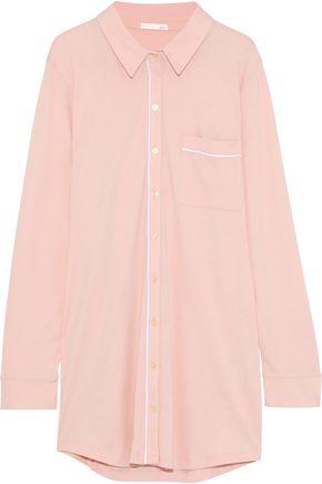 SKIN Modal and Pima cotton-blend jersey nightdress