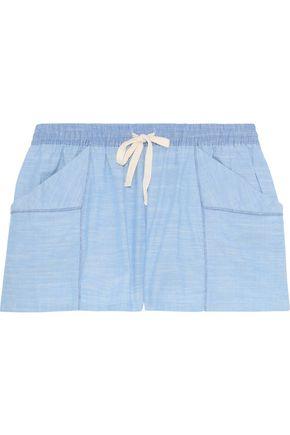 SKIN Jude cotton-gauze pajama shorts