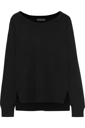 SKIN Wool, modal and cashmere-blend pajama top