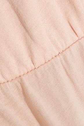 SKIN Keana Supima cotton-jersey chemise