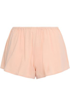 SKIN Cotton-jersey pajama shorts