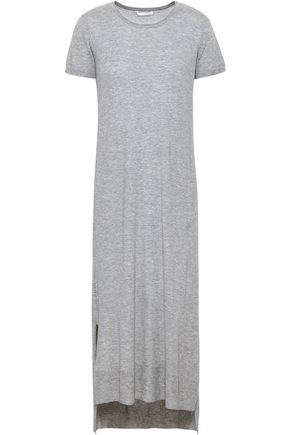 SKIN Wool, modal and cashmere-blend nightdress
