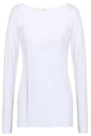 SKIN | Skin Pima Cotton Pajama Top | Goxip