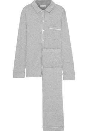 SKIN Pima cotton pajama set