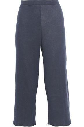 SKIN Cropped Pima cotton pajama pants