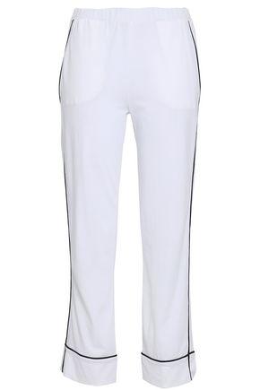 SKIN Pima cotton-jersey pajama pants