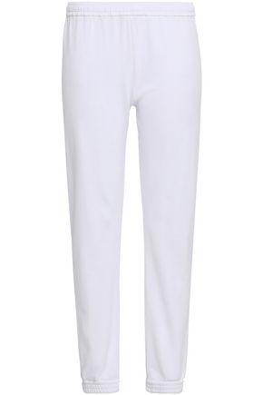 SKIN French cotton-terry pajama pants
