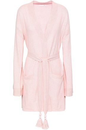 SKIN Valora cotton-blend robe