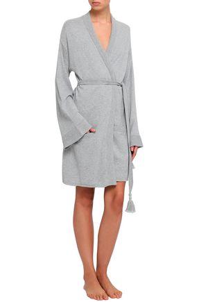 SKIN Valora cotton-blend robe