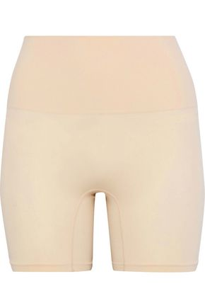 YUMMIE by HEATHER THOMSON Stretch-knit shaping shorts