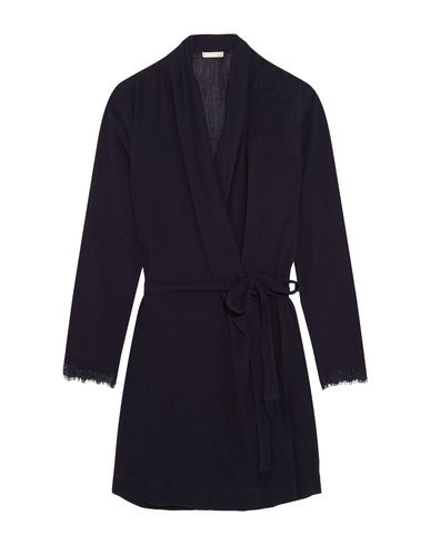Фото - Женский халат SKIN темно-синего цвета