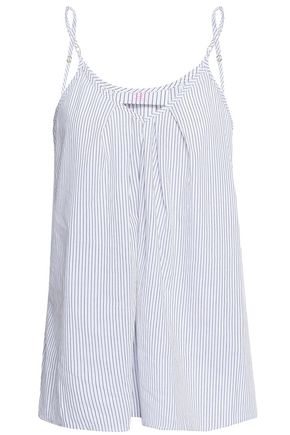 COMMANDO Pleated cotton camisole