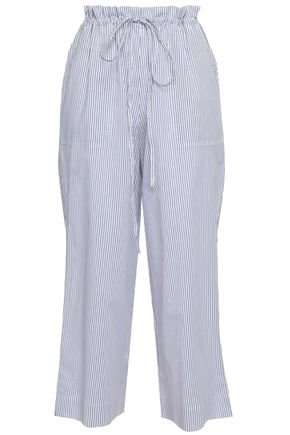 COMMANDO Cropped cotton pajama pants