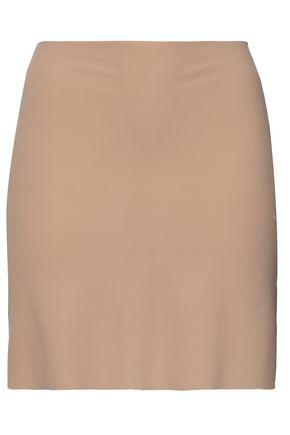 COMMANDO Stretch-jersey slip skirt