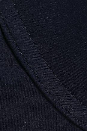 STELLA McCARTNEY Stella mesh-trimmed stretch-jersey underwired contour bra