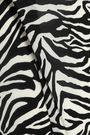 STELLA McCARTNEY Zebra-print stretch-knit swimsuit