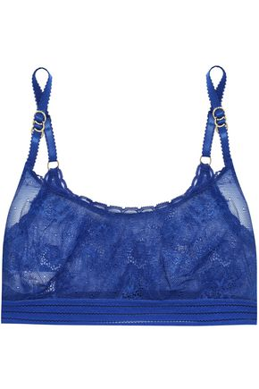 STELLA McCARTNEY Stella stretch-lace soft-cup bra
