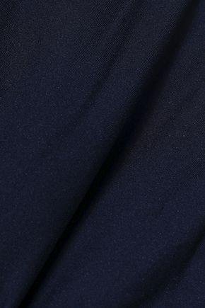 STELLA McCARTNEY Stella mesh-trimmed stretch-jersey mid-rise thong
