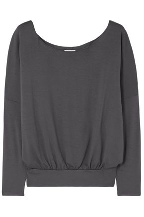 EBERJEY Umma stretch-modal jersey pajama top