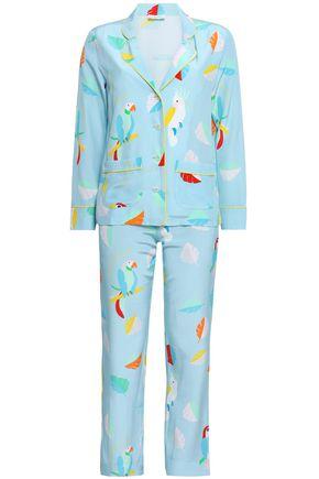 MIRA MIKATI Printed silk pajama set