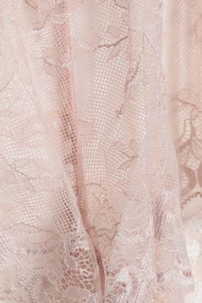 EBERJEY Lace pajama shorts