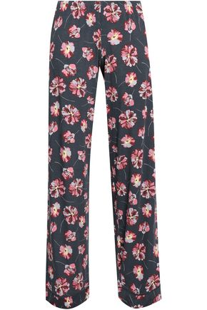 EBERJEY Floral-print stretch-modal jersey pajama pants