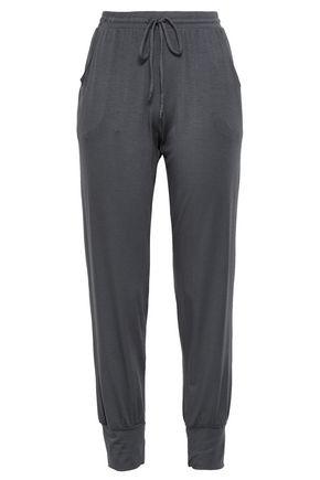 EBERJEY Stretch-modal jersey pajama set
