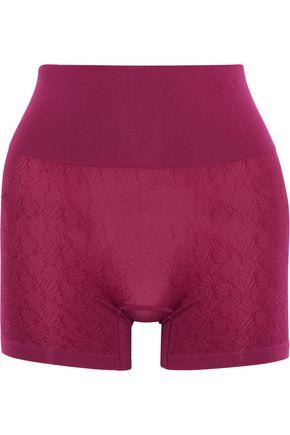 YUMMIE by HEATHER THOMSON Ultralight Seamless stretch-jacquard control shorts