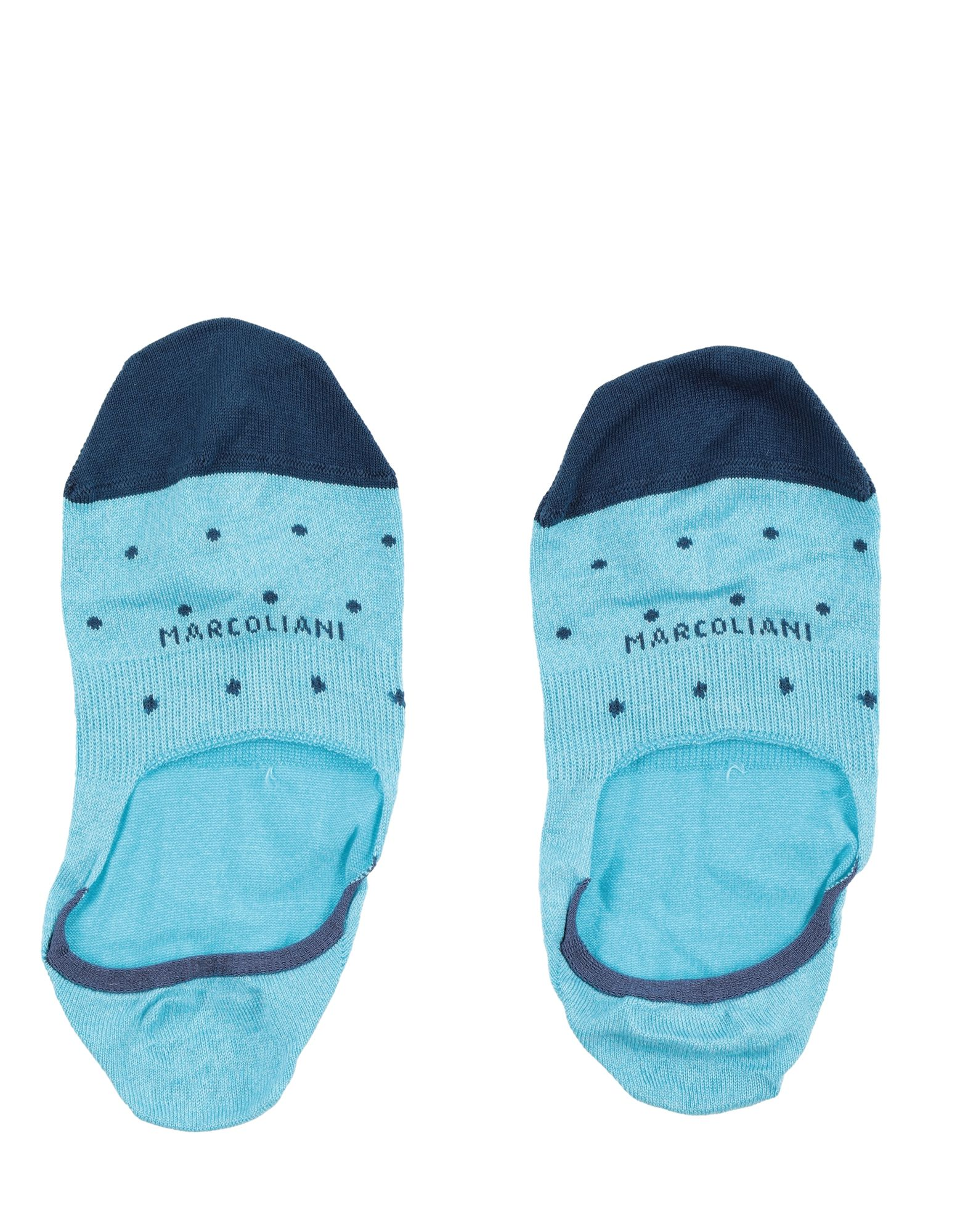 MARCOLIANI Milano Короткие носки мятный горошек цв 1040