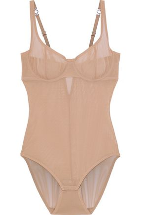 YUMMIE by HEATHER THOMSON Seductive Silhouette stretch-mesh bodysuit