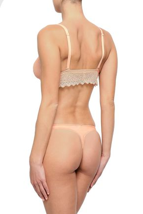 COSABELLA Lace mid-rise thong
