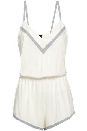 COSABELLA Pima cotton and modal-blend jersey playsuit