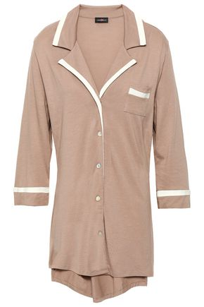 COSABELLA Pima cotton and modal-blend jersey nightshirt