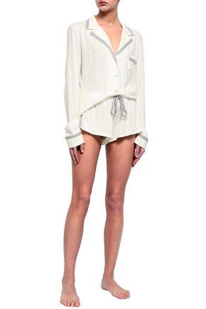 COSABELLA Pima cotton and modal-blend jersey pajama set